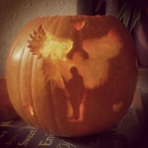Happy Halloween! Soldiers' Angels Pumpkin ;)