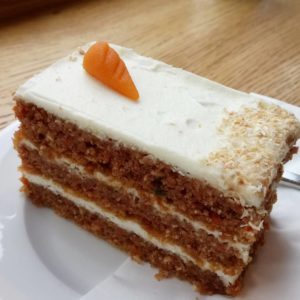 One gluten free carrot cake for breakfast Not the mosthellip