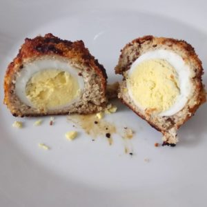 Inside my homemade fitterfood turkey scotch eggs! Delicious!